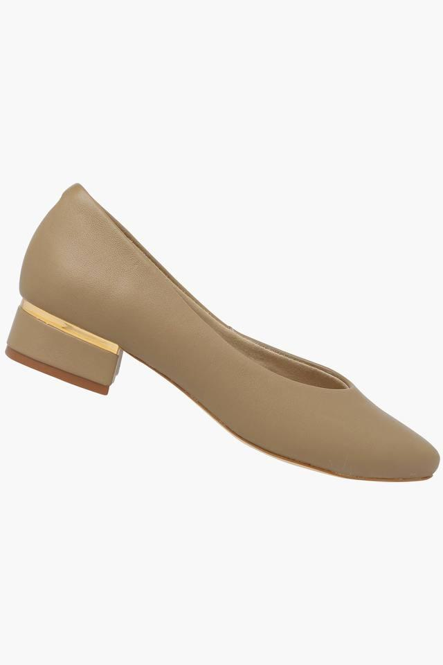 Womens Formal Wear Slip On Heel Shoes