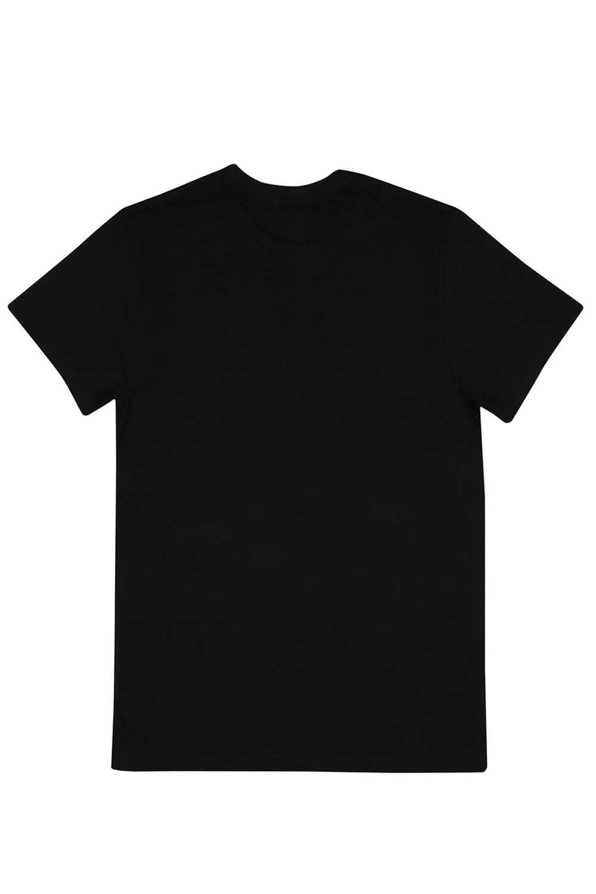 Mens Short Sleeves Round Neck Slim Fit Solid T-Shirt