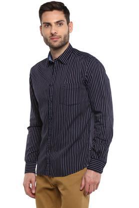 PARX - Dark BlueCasual Shirts - 2