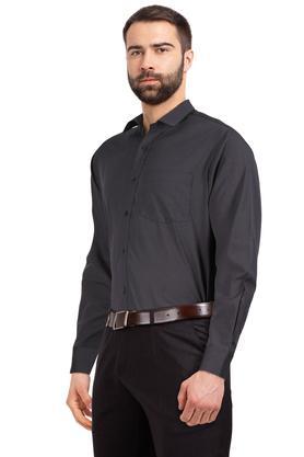 STOP - CharcoalFormal Shirts - 2