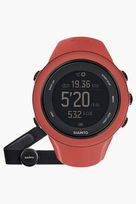SUUNTO Unisex Ambit3 GPA Sports Coral Heart Rate Monitor Watch