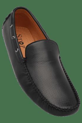 Mens Leather Casual Slipon Shoe