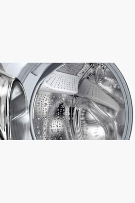Silver LED Display with Speed Perfect and Anti Vibration Sidewalk Washing Machine - 7 Kgs