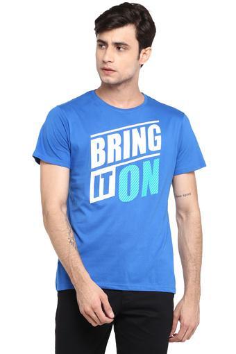 STOP -  Royal BlueT-shirts - Main