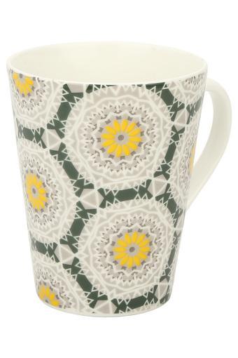 Conical Kaleidoscope Ethnic Printed Mug