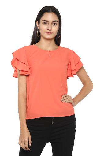 FRATINI WOMAN -  PeachPvt Women Western Buy 1 & Get 2nd At 20% Off  - Main