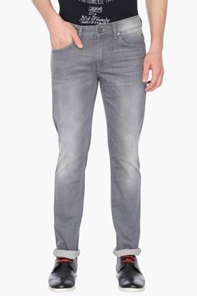 Mens 5 Pocket Stretch Jeans (Matt Fit)