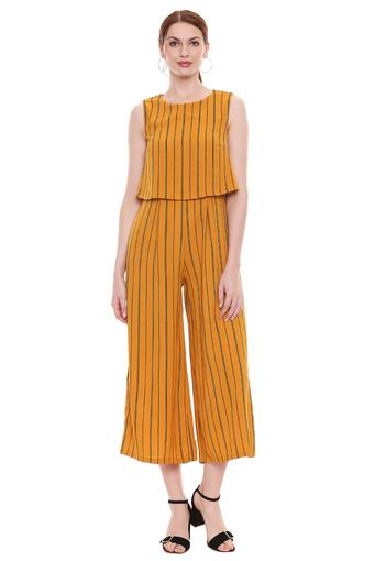 MADAME -  Mustard Jumpsuit - Main