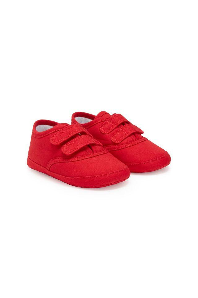 a4865a3d Buy MOTHERCARE Boys Red Canvas Shoes | Shoppers Stop
