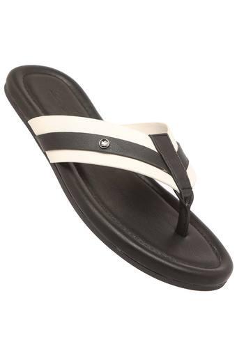 LOUIS PHILIPPE -  White MixSlippers & Flip Flops - Main