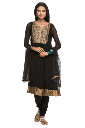 IMARA Women Embellished Churidar Suit - 200198526
