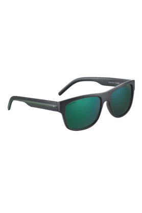 FASTRACK Green Wayfarers Sunglass For Men-P300GR3