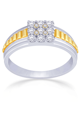 MALABAR GOLD AND DIAMONDS Mens Mine Diamond Ring - Size 22 - 201594552