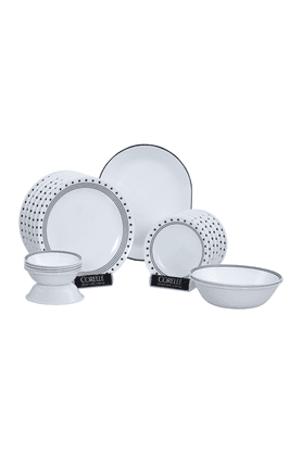 CORELLE City Block Dinner Set (Set Of 21)