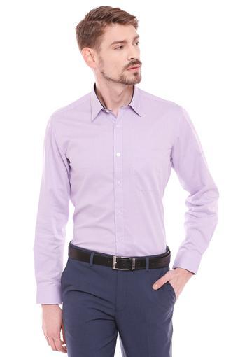 LOUIS PHILIPPE -  PurpleFormal Shirts - Main