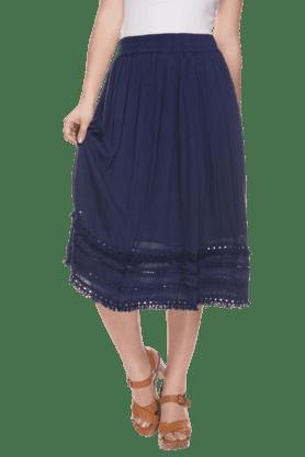 HAUTE CURRYWomens Elasticised Skirt
