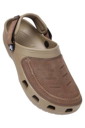 CROCS -  KhakiSlippers & Flip Flops - Main