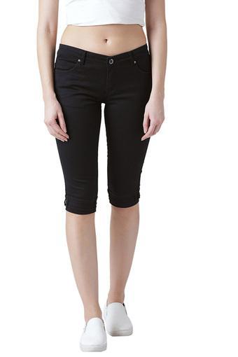 DEVIS -  BlackCapris & Shorts - Main