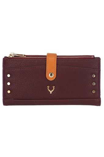 ALLEN SOLLY -  Burgundy Wallets & Clutches - Main