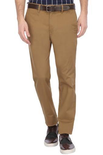 B015 -  KhakiFormal Trousers - Main