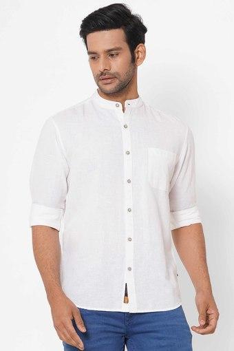 SIN -  WhiteCasual Shirts - Main
