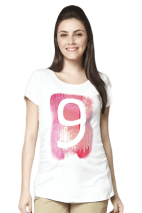 NINE MATERNITY Maternity Nursing T-Shirt