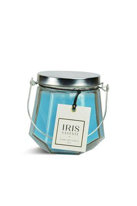 Glass Jar Candle with Lid