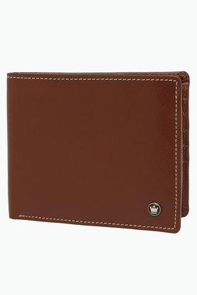 LOUIS PHILIPPE Mens Leather 1 Fold Wallet - 201727480