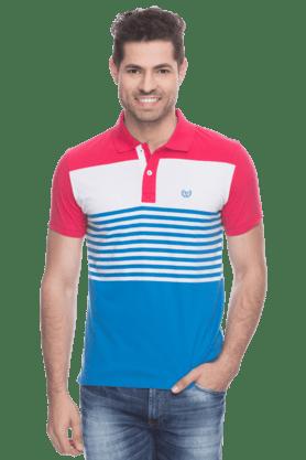 Men Polo Collar T-shirt