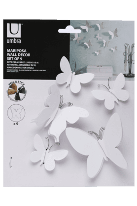 UMBRA Mariposa Butterfly Wall Decor (Set Of 9)