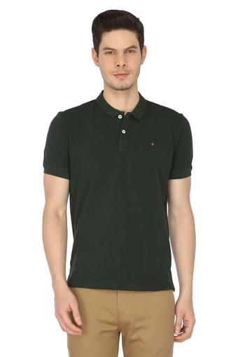 LOUIS PHILIPPE SPORTS -  Dark Green T-shirts - Main