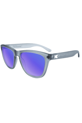 KNOCKAROUND Premium Unisex Sunglassess Frosted Grey/Moonshine-PMMS2003 (Use Code FB20 To Get 20% Off On Purchase Of Rs.1800)