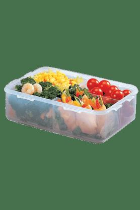 LOCK & LOCKClassics Rectangular Food Container With Divider - 1.6 Litres