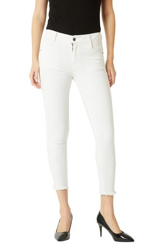 MISS CHASE -  WhiteJeans & Jeggings - Main