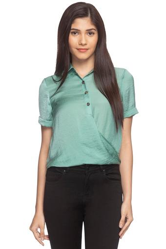 ONLY -  Bottle Green Shirts - Main