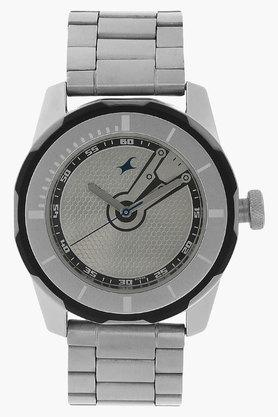 FASTRACKMens Silver Dial Stainless Steel Strap Watch - 201072542