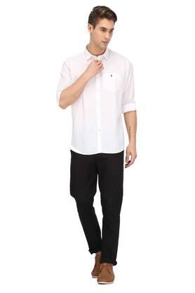 Mens Solid Casual Shirt