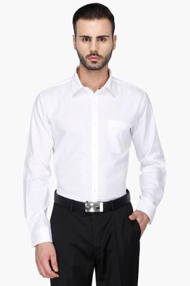 Rs By Rocky Star Formal Shirts (Men's) - Mens Full Sleeves Solid Formal Shirt