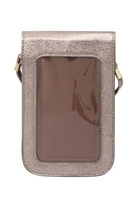 Womens Snap Closure Phone Pouch with Sling