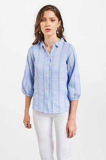 AND -  Light BlueTops & Blouses - Main