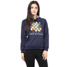 THE VANCA Women Hooded Sweatshirt - 200344396
