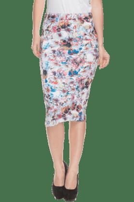ELLIZA DONATEINWomens Floral Print Skirt
