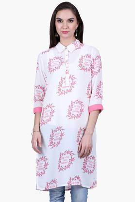 JUNIPER Womens Printed Shirt Kurta