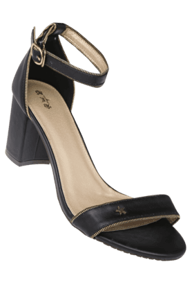 RS BY ROCKY STARWomens Daily Wear Ankle Buckle Closure Heel Sandal - 9980134