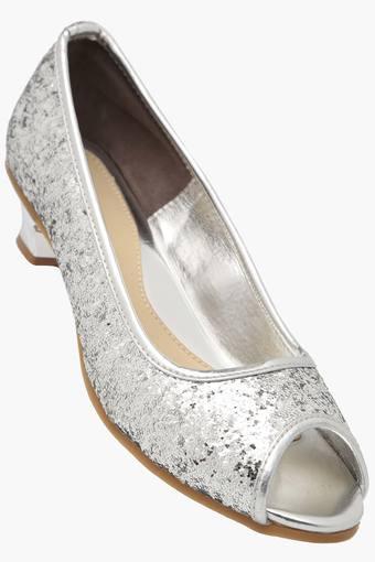 8592f170338a Buy KITTENS Girls Party Wear Slip On Sandals | Shoppers Stop