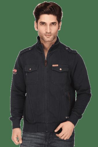 Slim AssnDenim Full Mens Fit Jacket sPolo Solid U Buy Sleeves MVUSpz