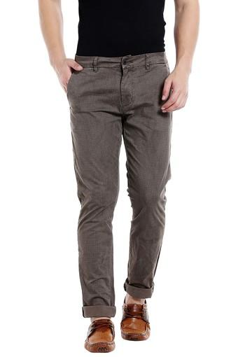 REX STRAUT JEANS -  Coffee Cargos & Trousers - Main