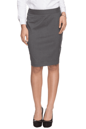 Buy Knee Length Skirts For Womens Online | Shoppers Stop