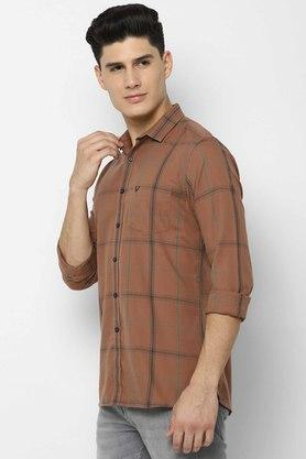 ALLEN SOLLY - KhakiCasual Shirts - 2