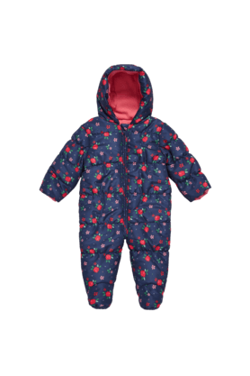 MOTHERCARE Baby Floral Snowsuit